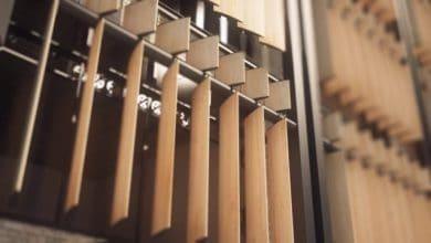 Photo of Nuevo sistema de persianas verticales que gira de acuerdo a movimiento del sol