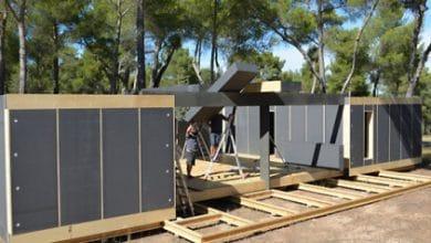 Photo of Diseño de casa pasiva con nuevo sistema prefabricado, vivienda en cuatro días