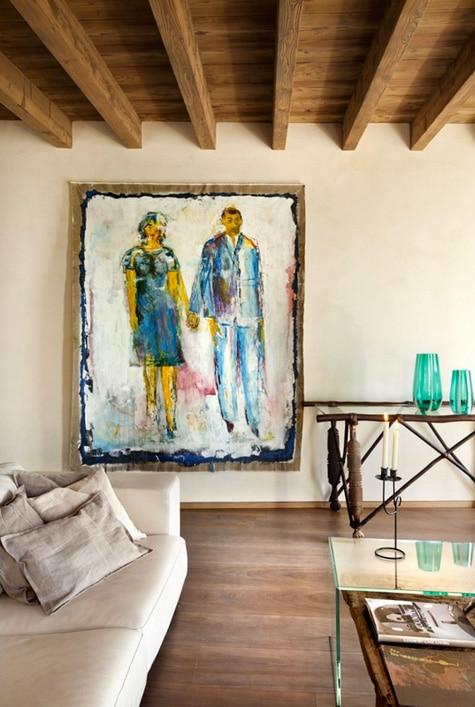 Decoraci n de interiores r stico y moderno combina dise o for Hogar decoracion y diseno