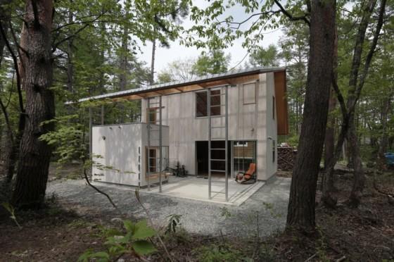 Diseño de casa pequeña de hormigón