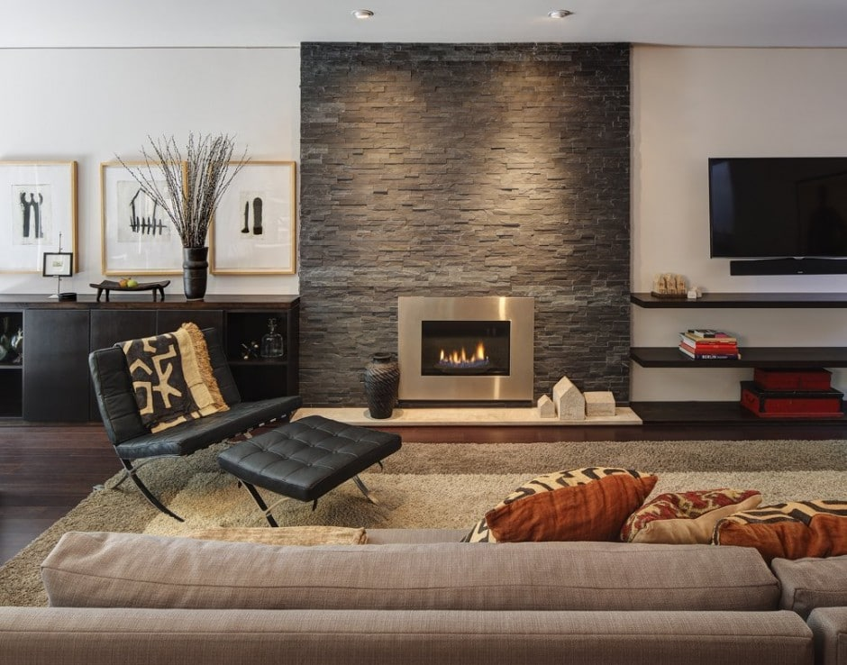 Remodelar casa peque a y antigua para hacerla moderna for Diseno chimeneas para casas