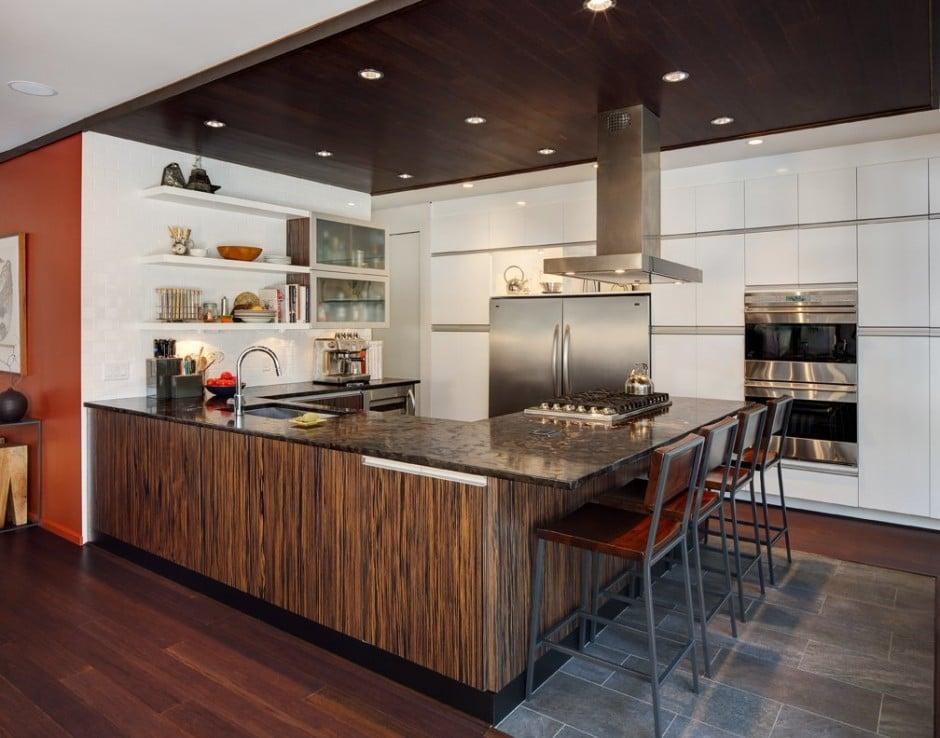 Remodelar casa peque a y antigua para hacerla moderna for Award winning kitchen island designs