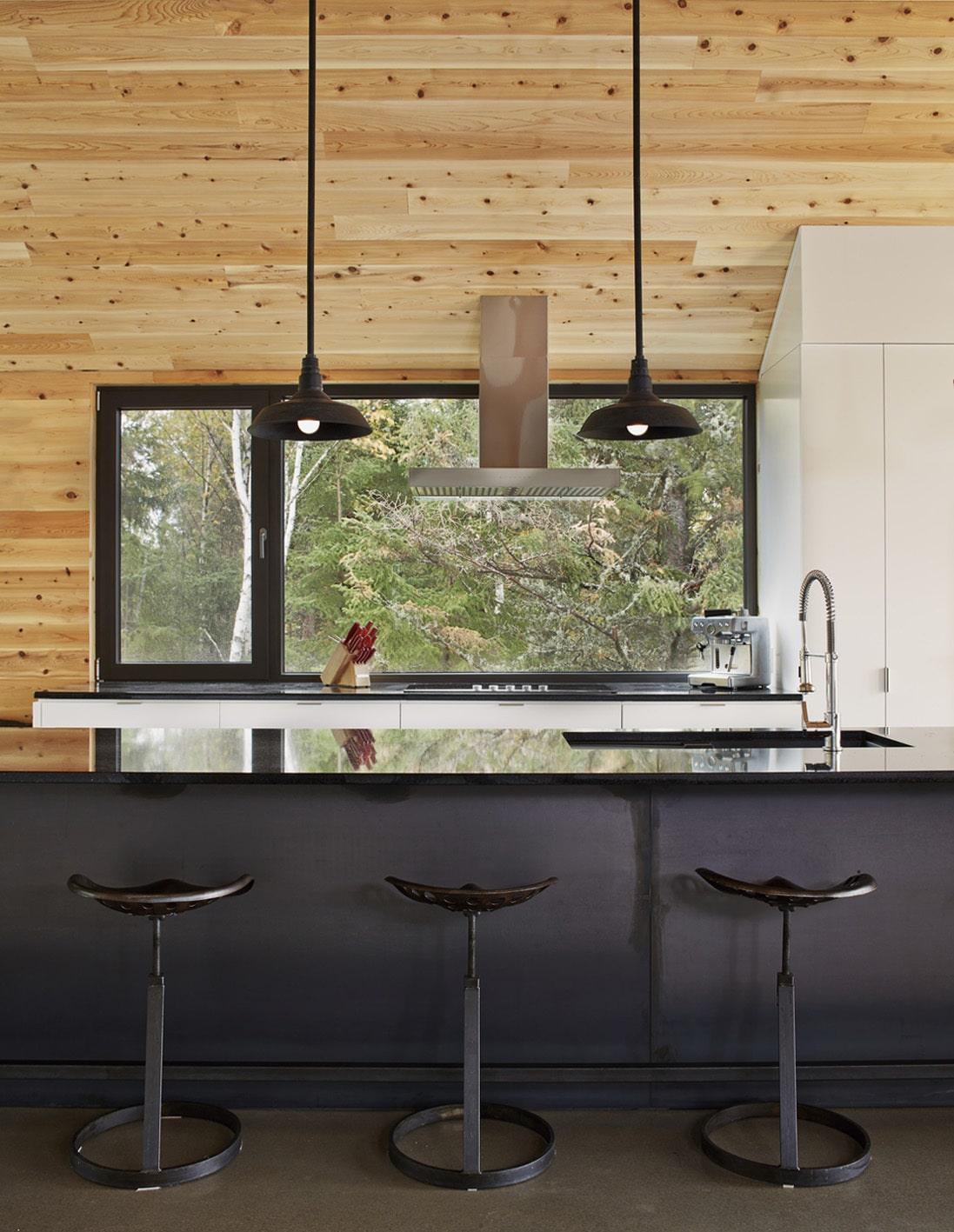 Dise o de casa moderna de dos pisos m s s tano planos for Grado medio cocina y gastronomia