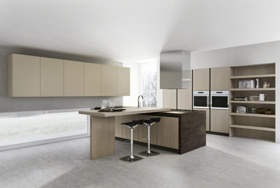 Diseño de cocina moderna simple
