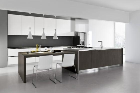 Cocina elegante y sencilla