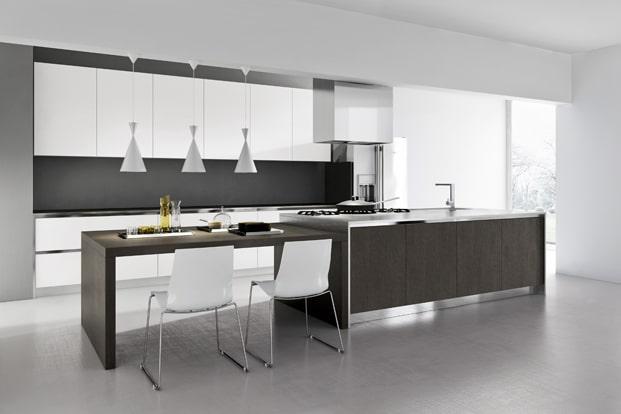 Dise o de cocinas modernas modelos simples y elegantes for Imagenes de salas modernas y elegantes