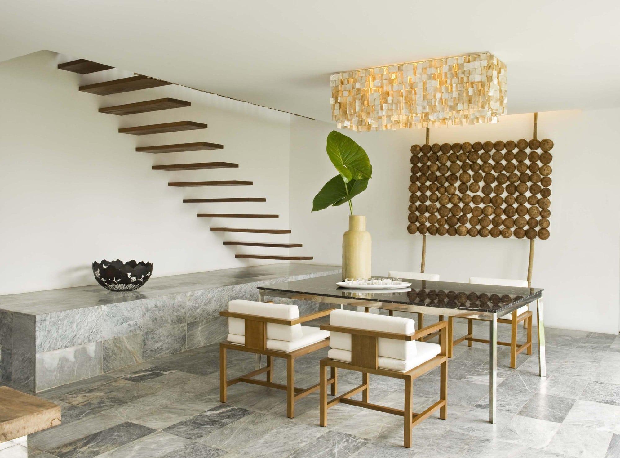 Dise o de casa r stica fachada interiores y planos for Materiales para techos de casas