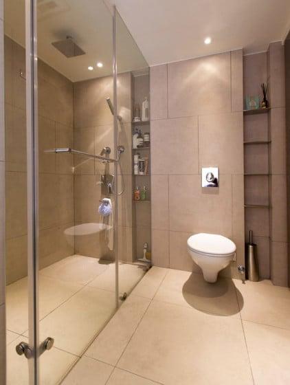 Diseño de cuarto de baño de loft 2
