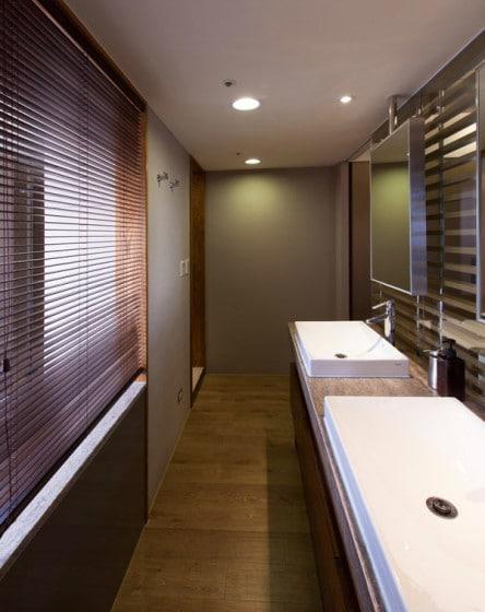 Diseño de cuarto de baño de loft