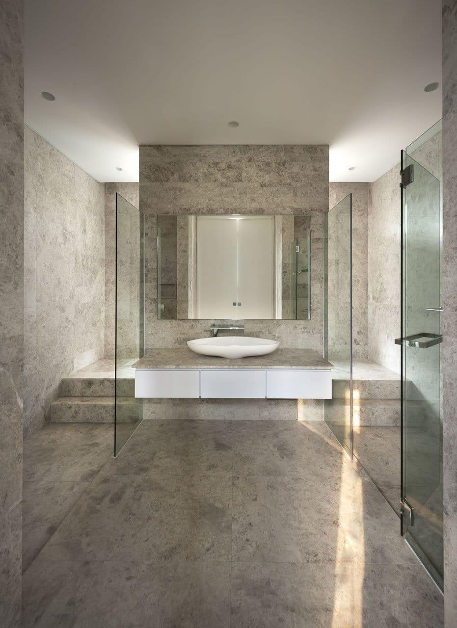 Plano de casa de dos pisos peque a fachada e interiores for Diseno de habitacion principal pequena