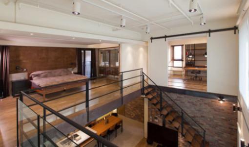 Loft construye hogar for Diseno de apartamento de soltero