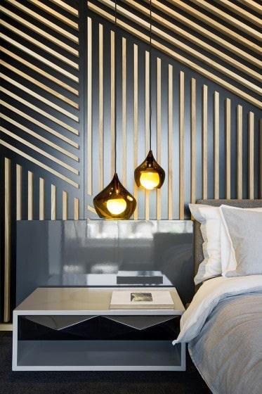 Diseño de dormitorio de minidepartamento