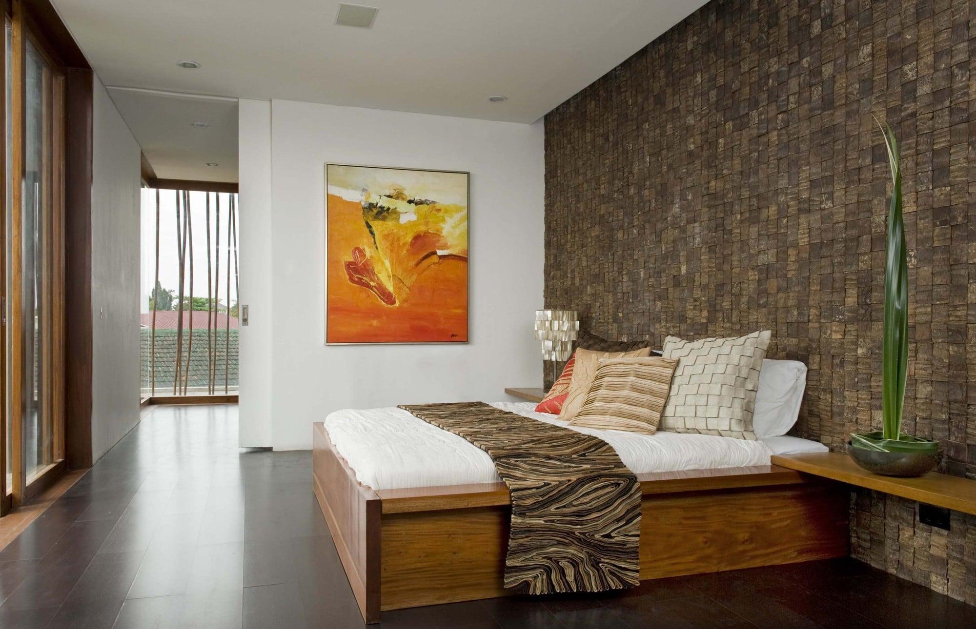 Dise o de casa r stica fachada interiores y planos - Como decorar una habitacion rustica ...