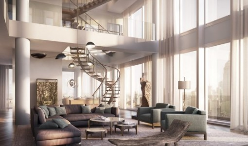 Penthouse construye hogar for Man arredamenti