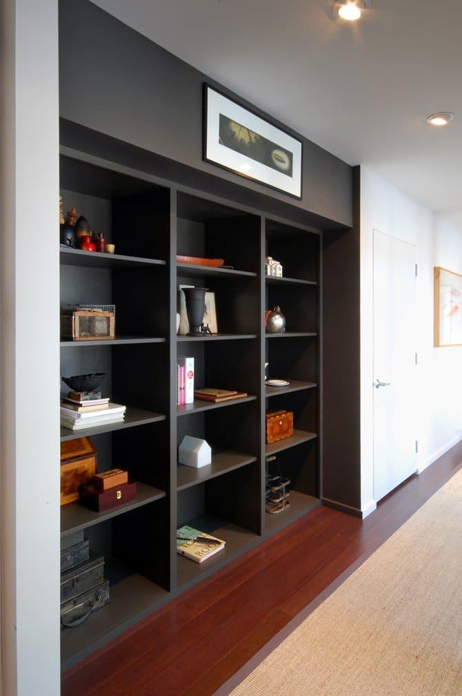 Remodelar casa peque a y antigua para hacerla moderna for Libreros para oficina