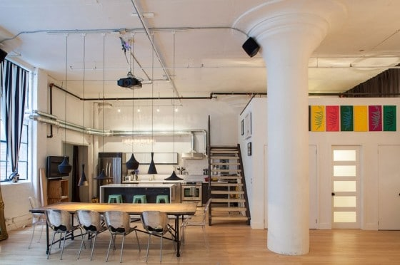 Diseño de loft industrial