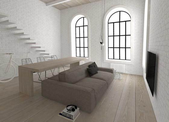 Diseño de mueble para apartamento pequeño