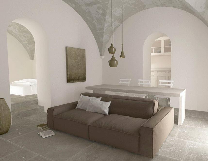 Planos de apartamentos peque os de uno y dos dormitorios for Muebles sala comedor