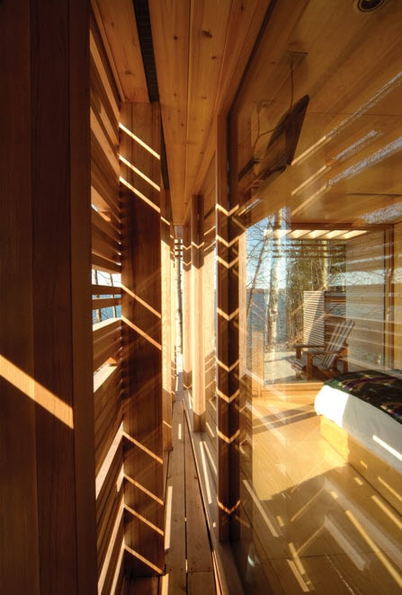Dise o de muro de casa de madera construye hogar - Muro de madera ...