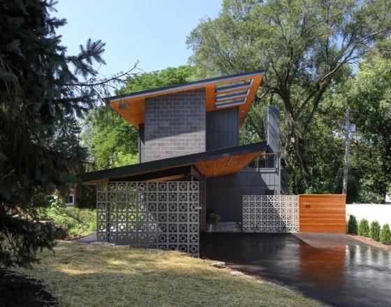 Diseño de pequeña casa moderna