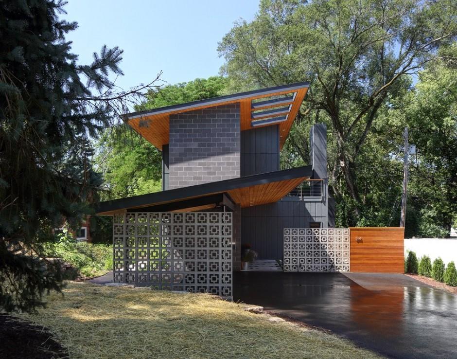 Remodelar casa peque a y antigua para hacerla moderna - Diseno de chimeneas para casas ...