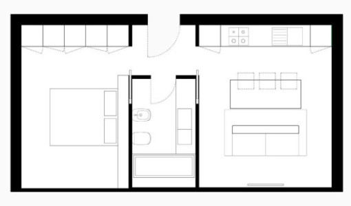 Muebles construye hogar for Muebles para apartamentos pequenos