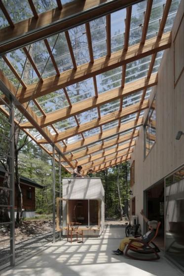 Diseño de techo de policarbonato