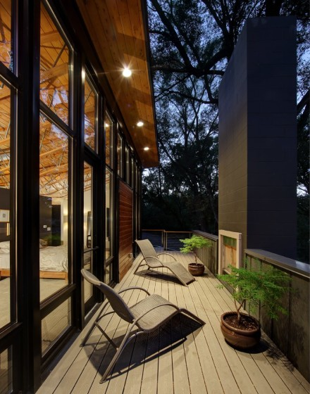Diseño de terraza de casa pequeña