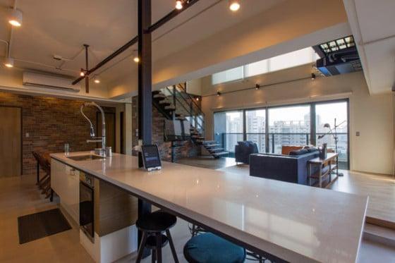 Diseño interior de pequeño apartamento
