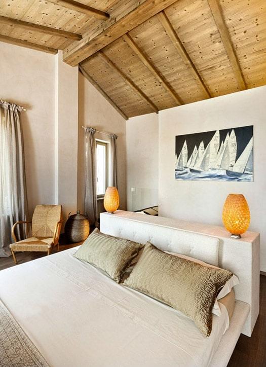 Decoraci n de interiores r stico y moderno combina dise o for Dormitorios rusticos modernos