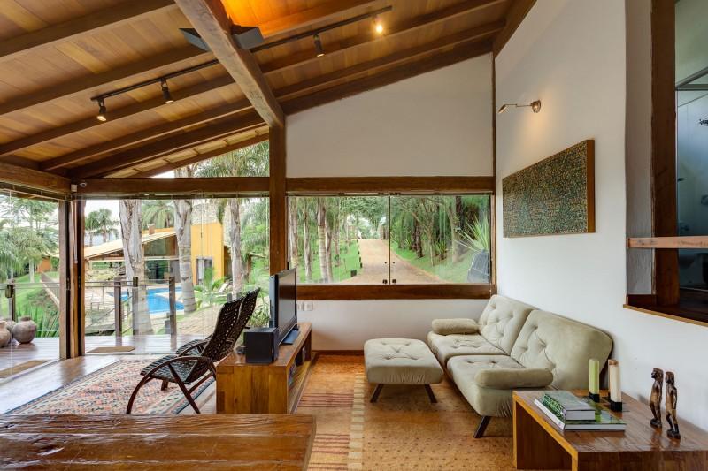 Dise o de casa de campo planos interior y fachadas for Diseno de casas pequenas exteriores