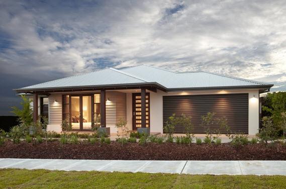 Planos de casas de un piso fachadas y planos de planta for Casa minimalista de un piso