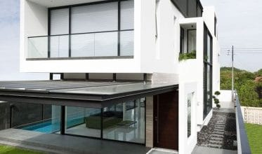Photo of Planos de casa de dos pisos pequeña incluye fachada y diseño de interiores