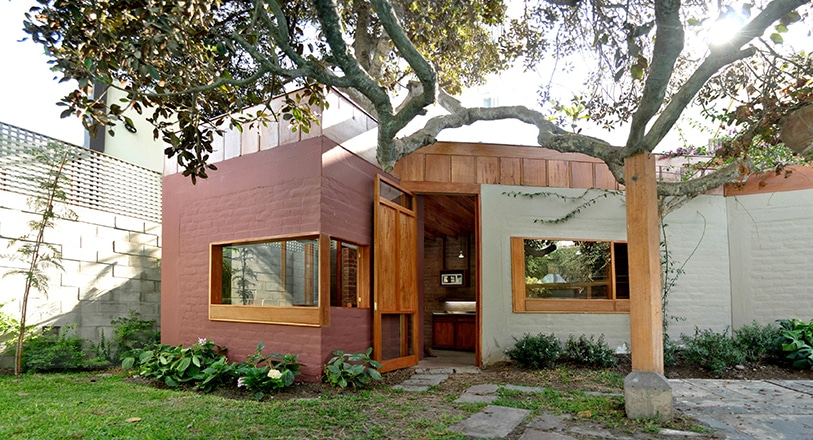Dise o de casa r stica fachada y dise o de interiores Diseno de casas rusticas