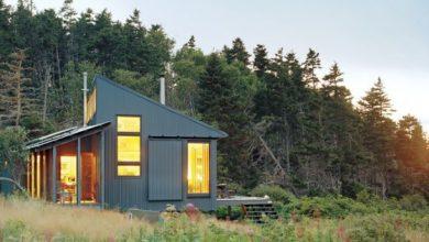 Casa pequeña de campo
