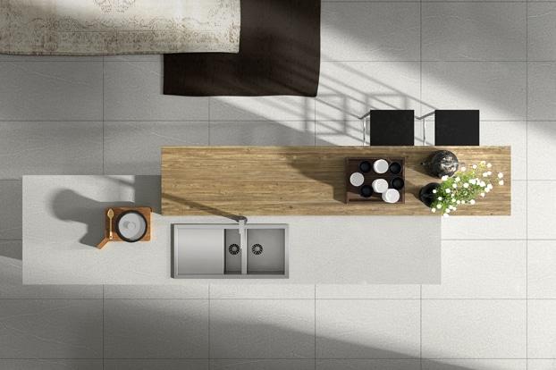 Dise o de cocinas modernas modelos simples y elegantes for Planos de cocina en isla