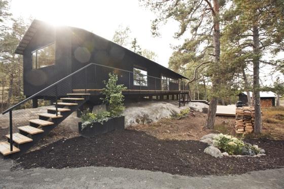 Perfil 2 de casa construida en madera