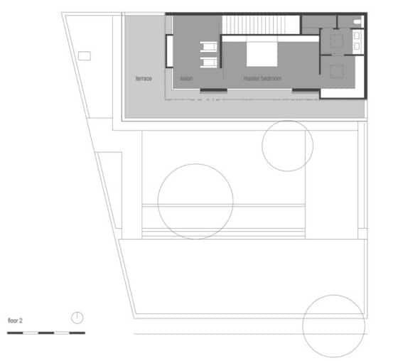 Plano de casa rústica 3 pisos