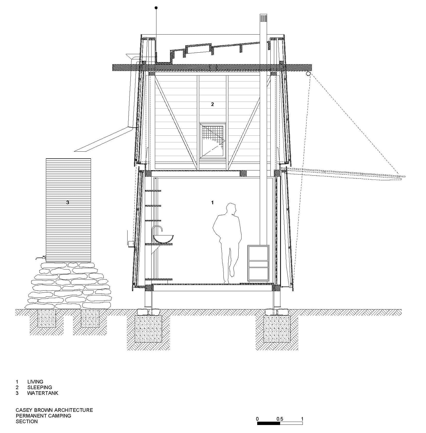 Dise o de casa peque a de campo interiores y planos for Crear planos casas