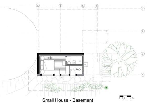 Planos de casa de campo 3