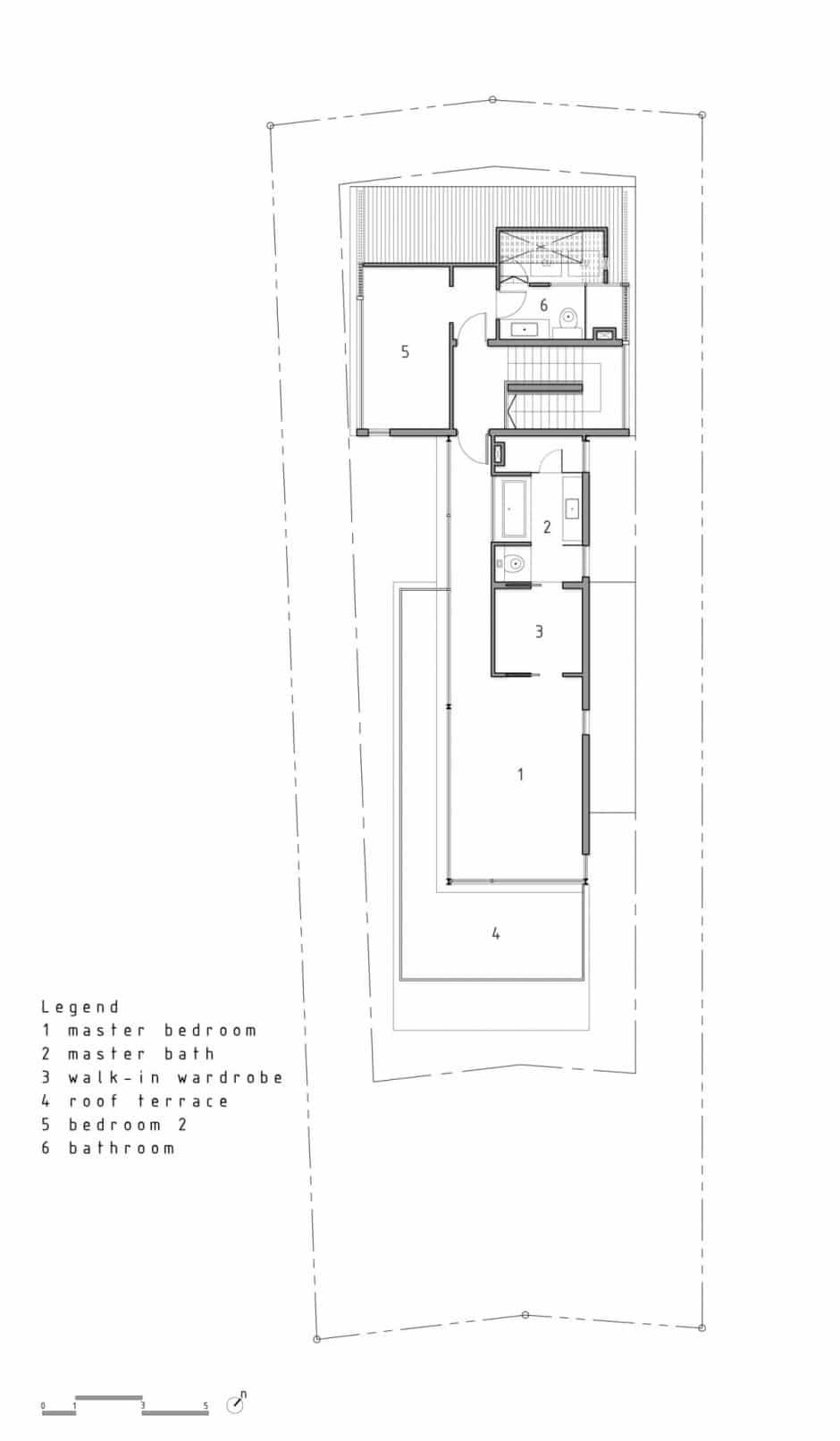 Plano de casa de dos pisos peque a fachada e interiores for Planos para casas de dos pisos modernas