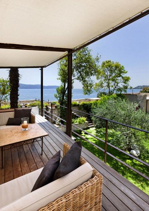 Decoraci n de interiores r stico y moderno combina dise o for Disenos terrazas modernas fotos
