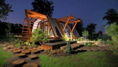 Photo of Diseño de casa pequeña de madera, es autosustentable y se puede controlar desde un teléfono móvil