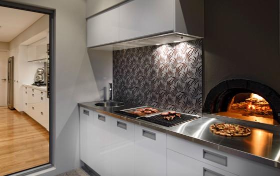 Diseño de BBQ moderno