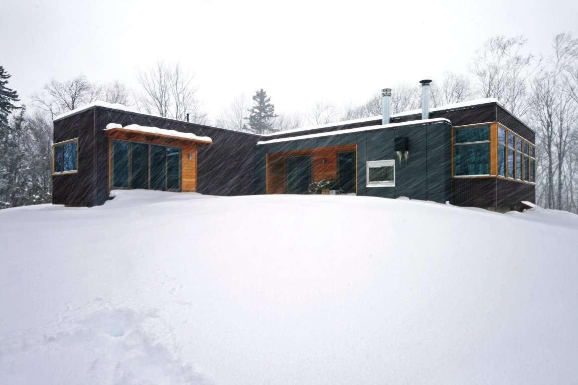 Dise o de casa en forma de l planos y fachadas - Fotos de casas en forma de l ...