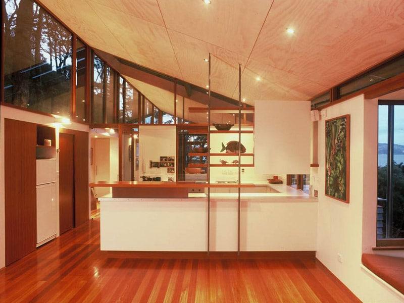 Dise o de casa en la monta a fachada interior y maqueta for La casa de las cocinas sevilla
