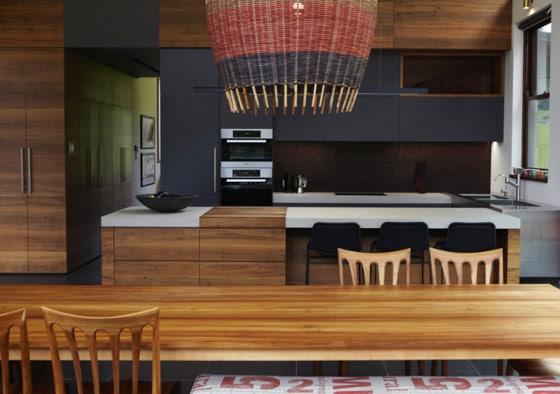 Diseño de cocina estilo natural