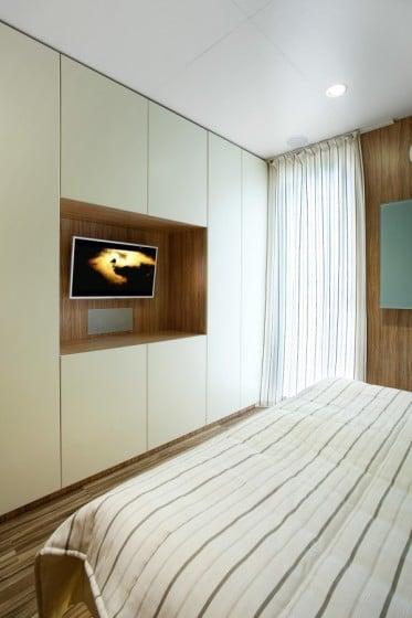 Diseño de dormitorio de casa prefabricada 2