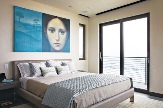 Diseño de dormitorio en segundo nivel