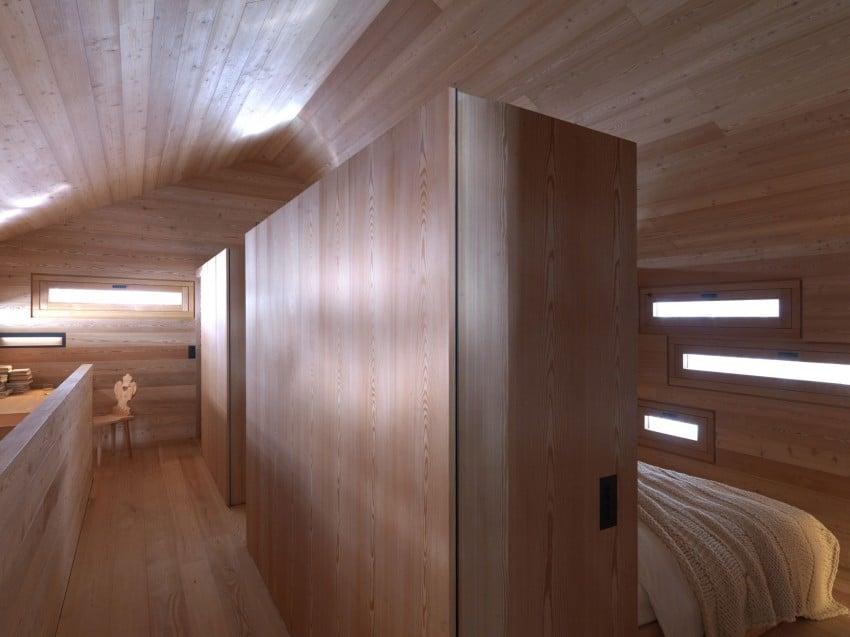 Dise o de casa para clima fr o construcci n de madera - Pintura para maderas interior ...